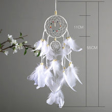 Load image into Gallery viewer, Feather LED Dream Catcher