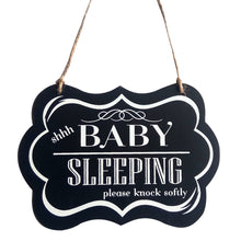 Load image into Gallery viewer, Baby Sleeping Sign
