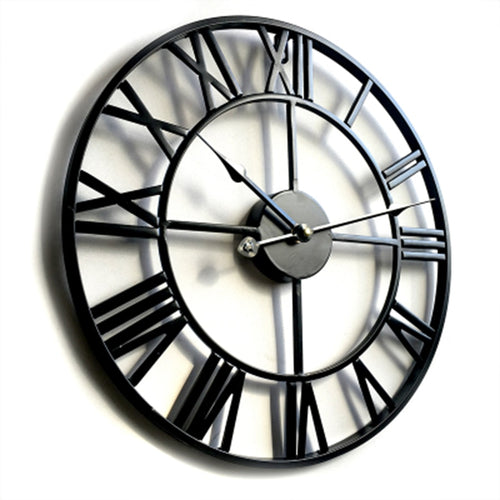 Metal Modern Farmhouse Wall Clock