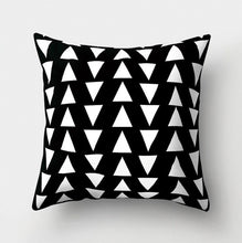 Load image into Gallery viewer, Black + White Pillows