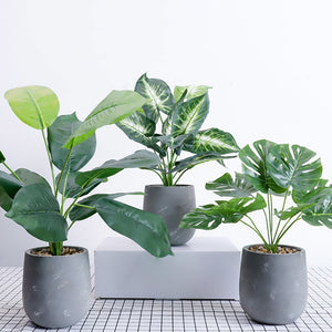 Faux Potted Plants