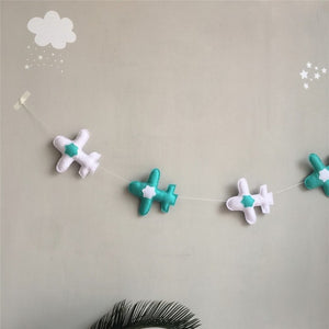 Felt Airplane Garland