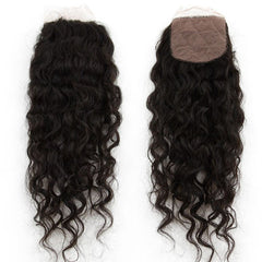 "Brazilian Beach Wave Lace  Closure (4""*4"")"
