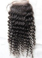 "Brazilian Tight Curl Lace  Closure (4""*4"")"