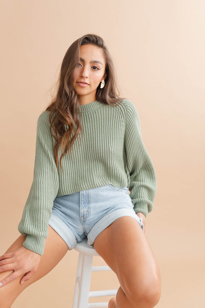 Mazzy Cropped Sweater