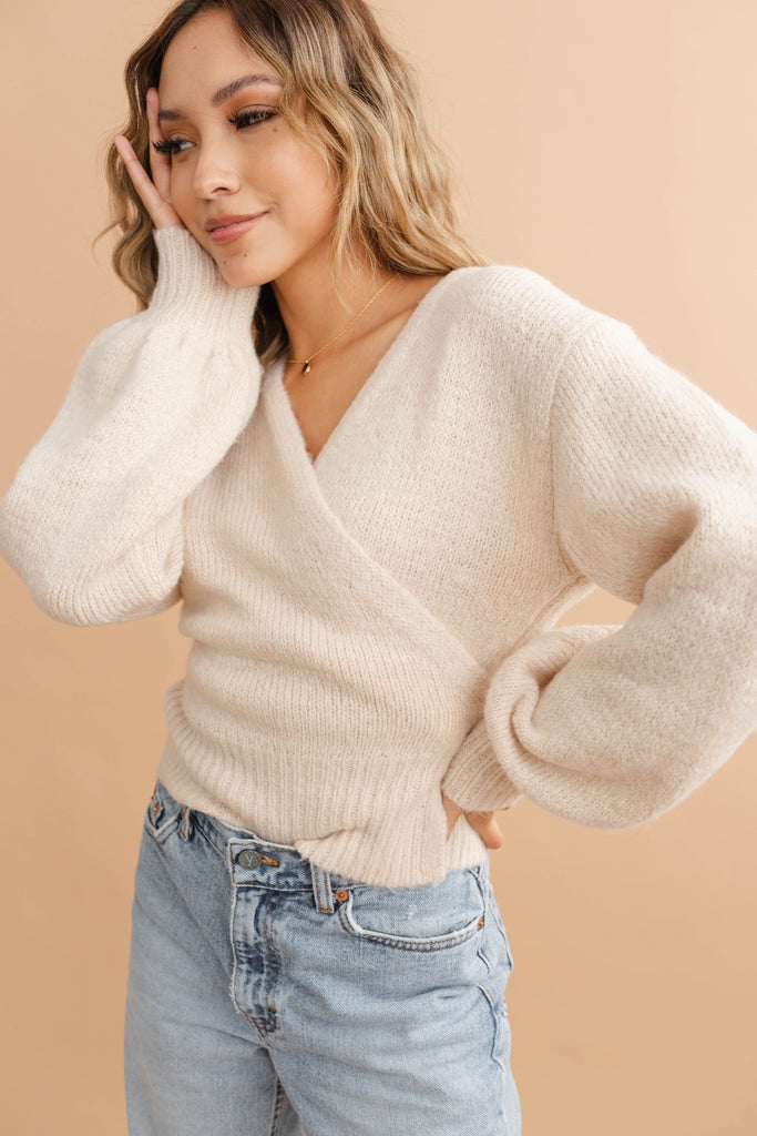 Millie Wrap Sweater