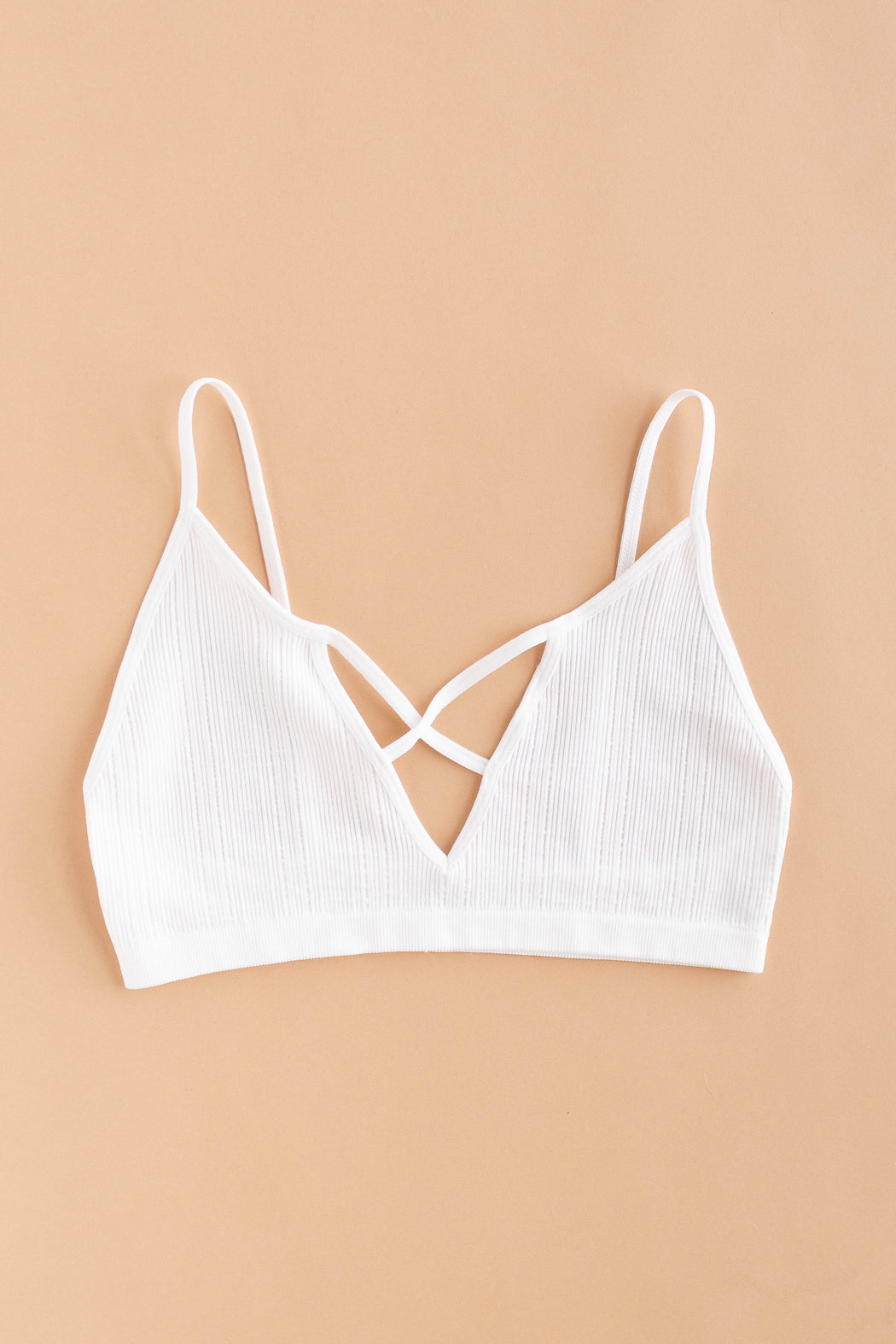 Sunday Morning Ribbed Bralette
