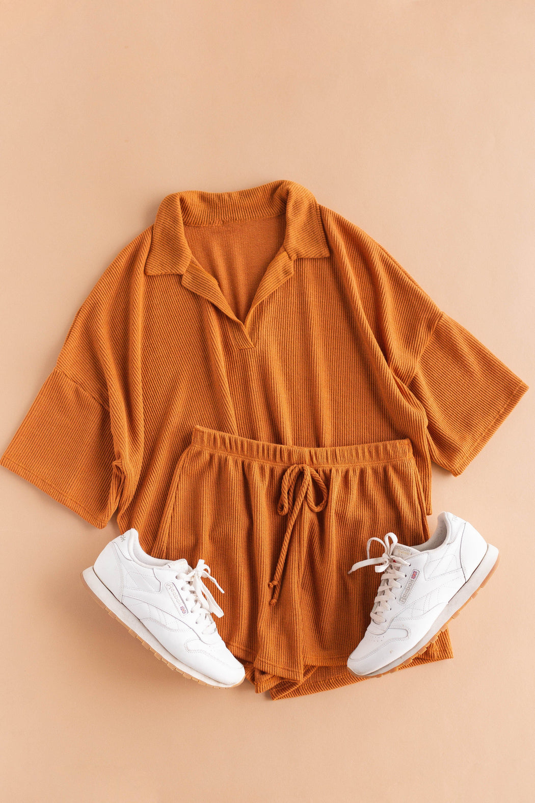 Autumn Top + Shorts Set
