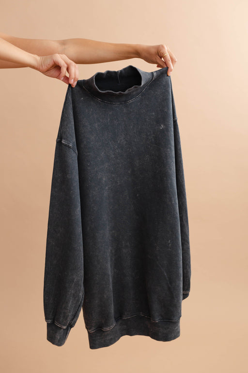 Mineral Washed Pullover