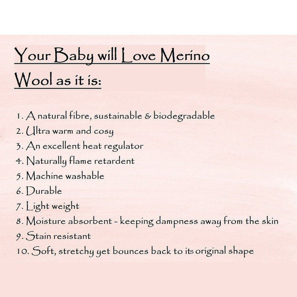 10 Reasons Why Your Baby Will Love Merino… and You Too!