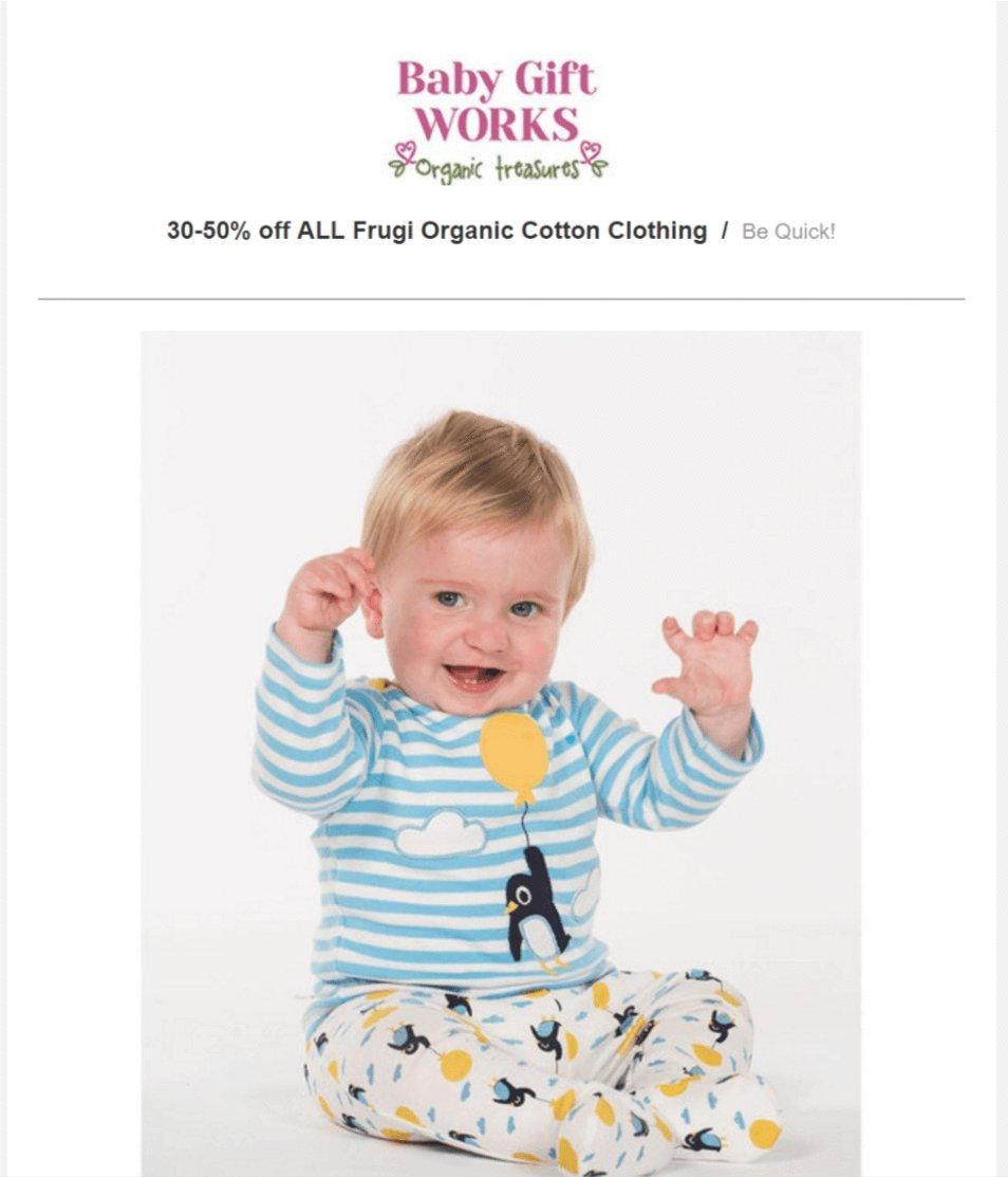 SALE - 30-50% off on ALL Frugi Organic Cotton clothing items