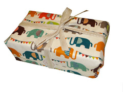 Free Organic Cotton Gift Wrapping