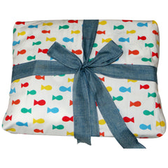 Frugi organic cotton gift wrapping