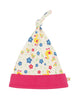 Frugi organic cotton lovely knotted baby hat - ducky waddle