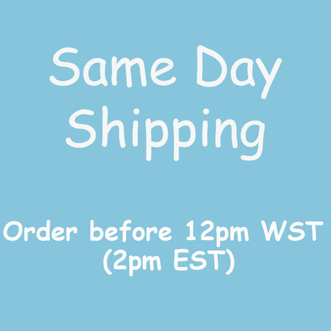 Same day shipping for Baby Gift Works