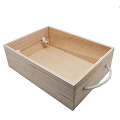 Large timber hamper