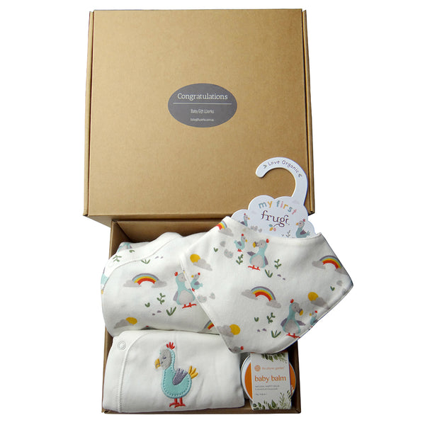 Welcome to the World | Organic Baby Box | Delightful Dodo | Twin Option Available