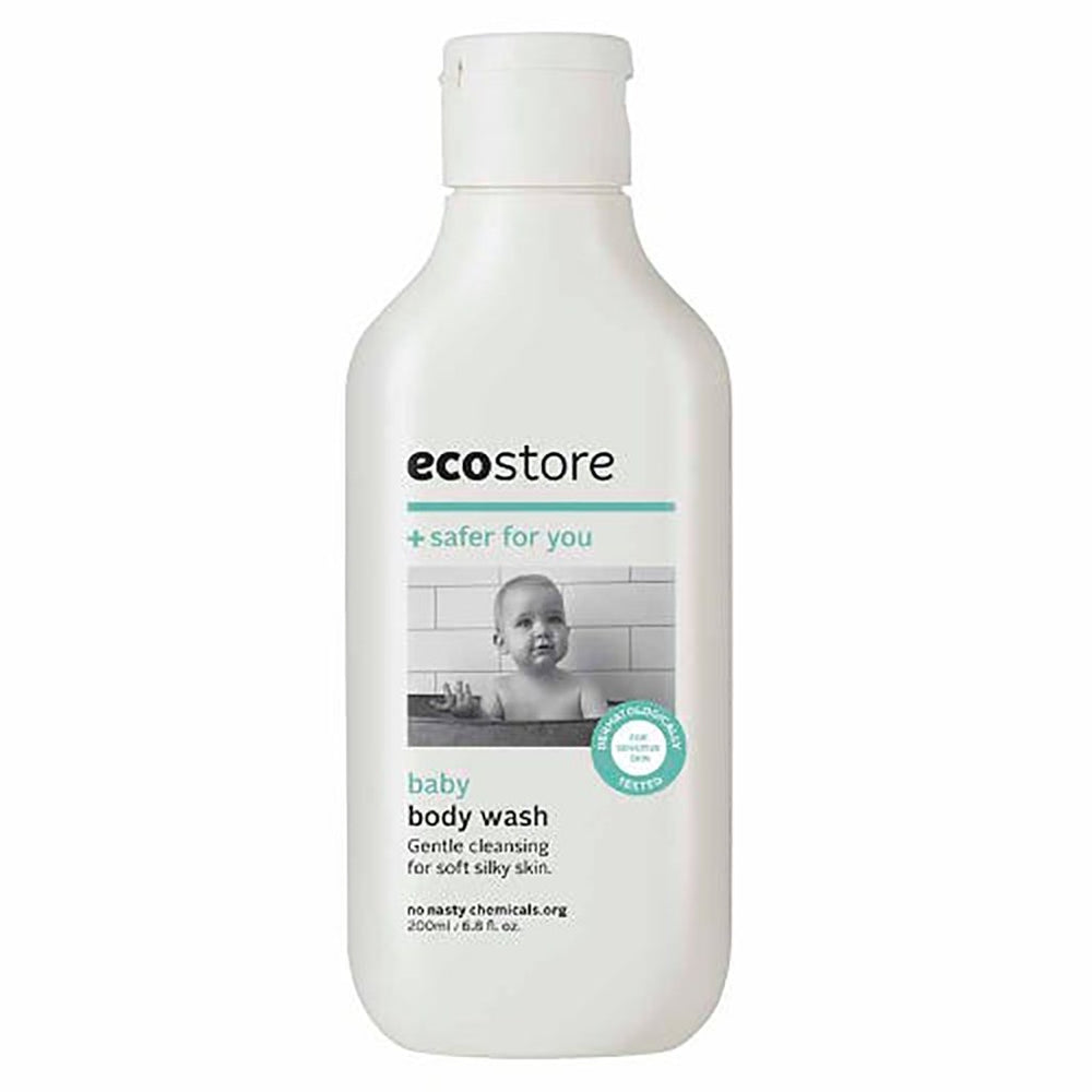 Ecostore baby body wash plant based