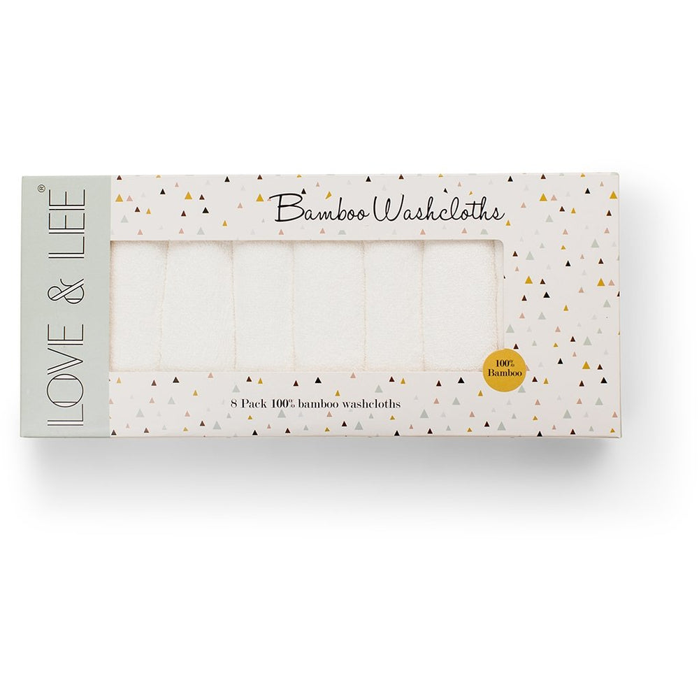 Love & Lee 8 pack Bamboo washcloths