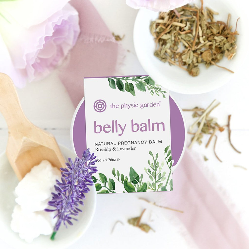 The Physic Garden belly balm lifestyle