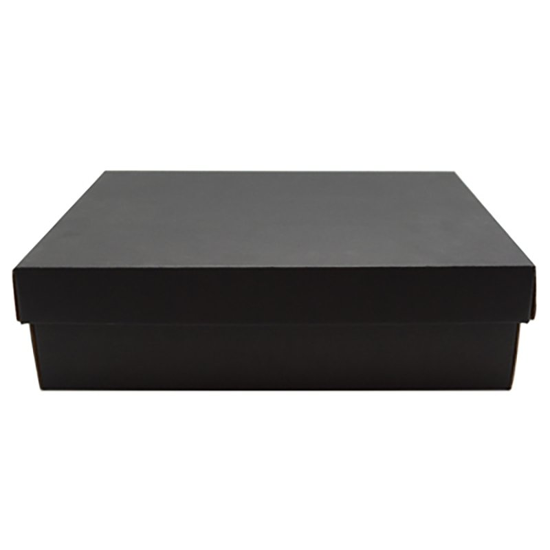 Premium kraft gift box - black - Baby Gift Works