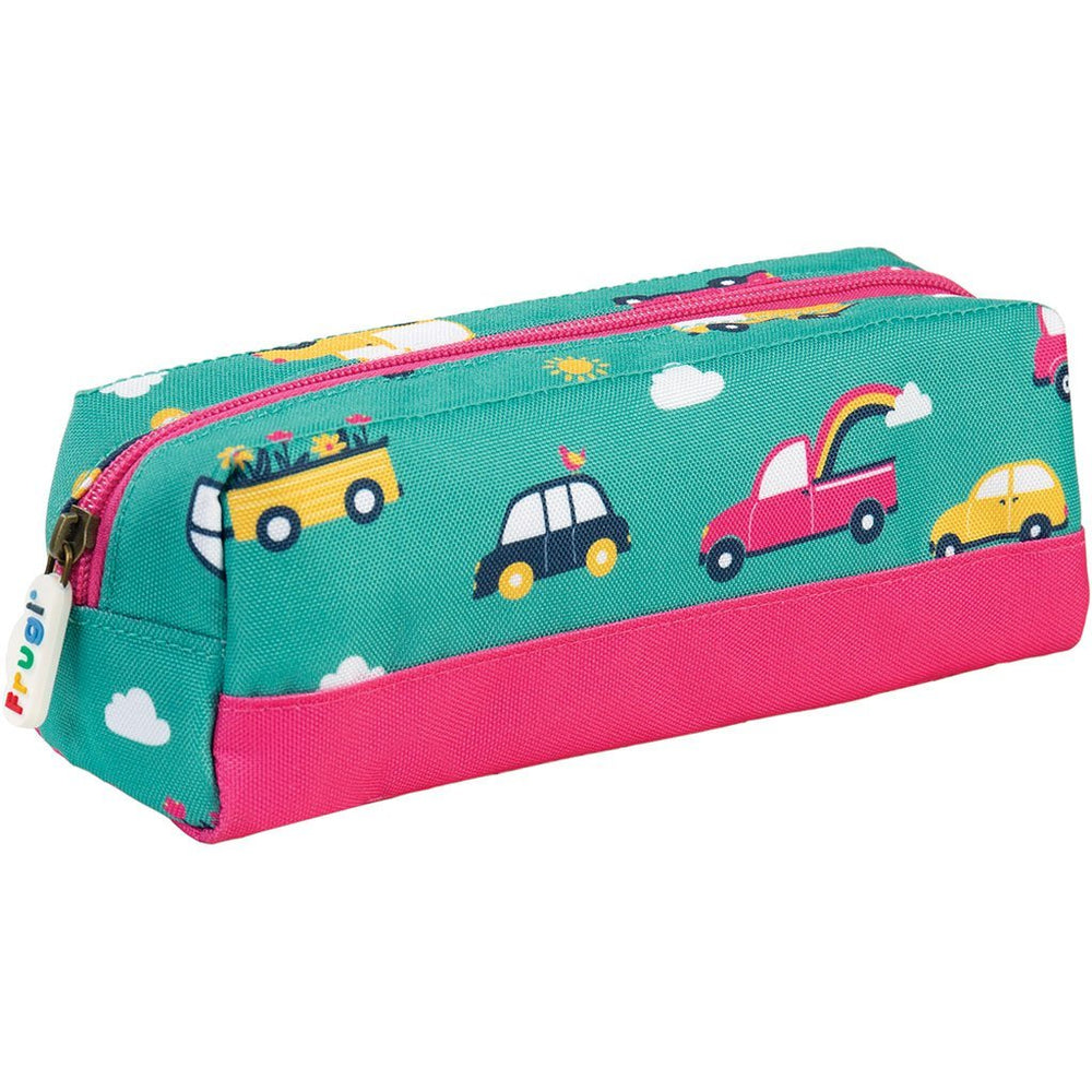 Baby Gift Works - Frugi Crafty Pencil Case - Aqua Rainbow Roads