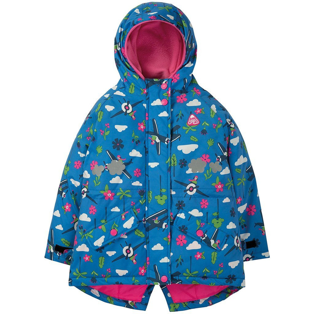 Baby Gift Works - Frugi sail blue fly high waterproof coat