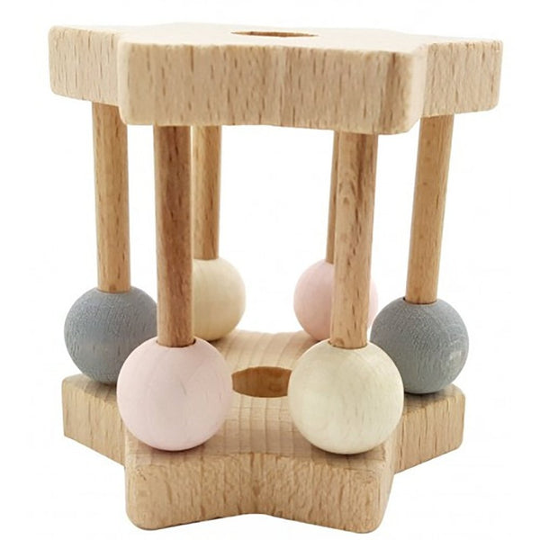 Hess wooden baby rattle - eco-friendly