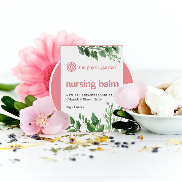 Nursing Balm | All Natural Breastfeeding Balm | Australian Made Skin Care The Physic Garden