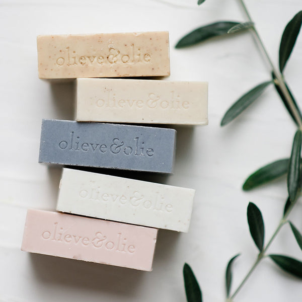 Olieve & Olie unpackaged bar soap - Baby Gift Works