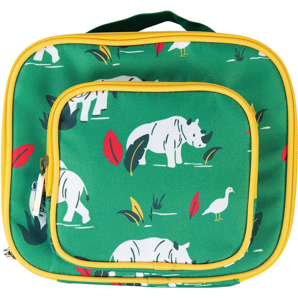 Baby Gift Works - Frugi Lunch Snack Bag - Rhino Ramble
