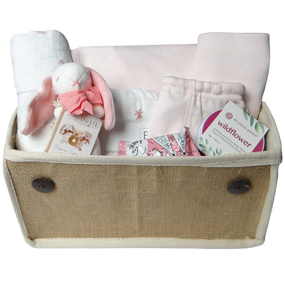 Baby Gift Works - Beautiful Mum and Baby Gift Hamper - Pink