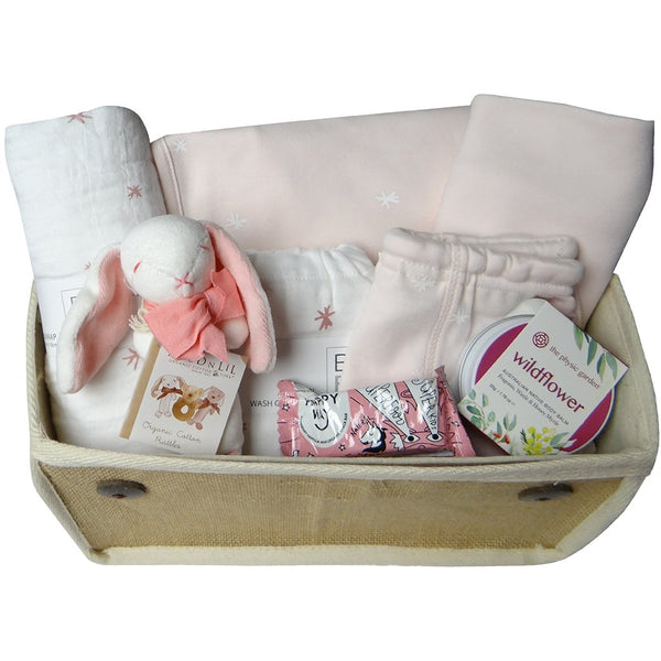 Beautiful Baby organic mum and baby gift hamper - pink