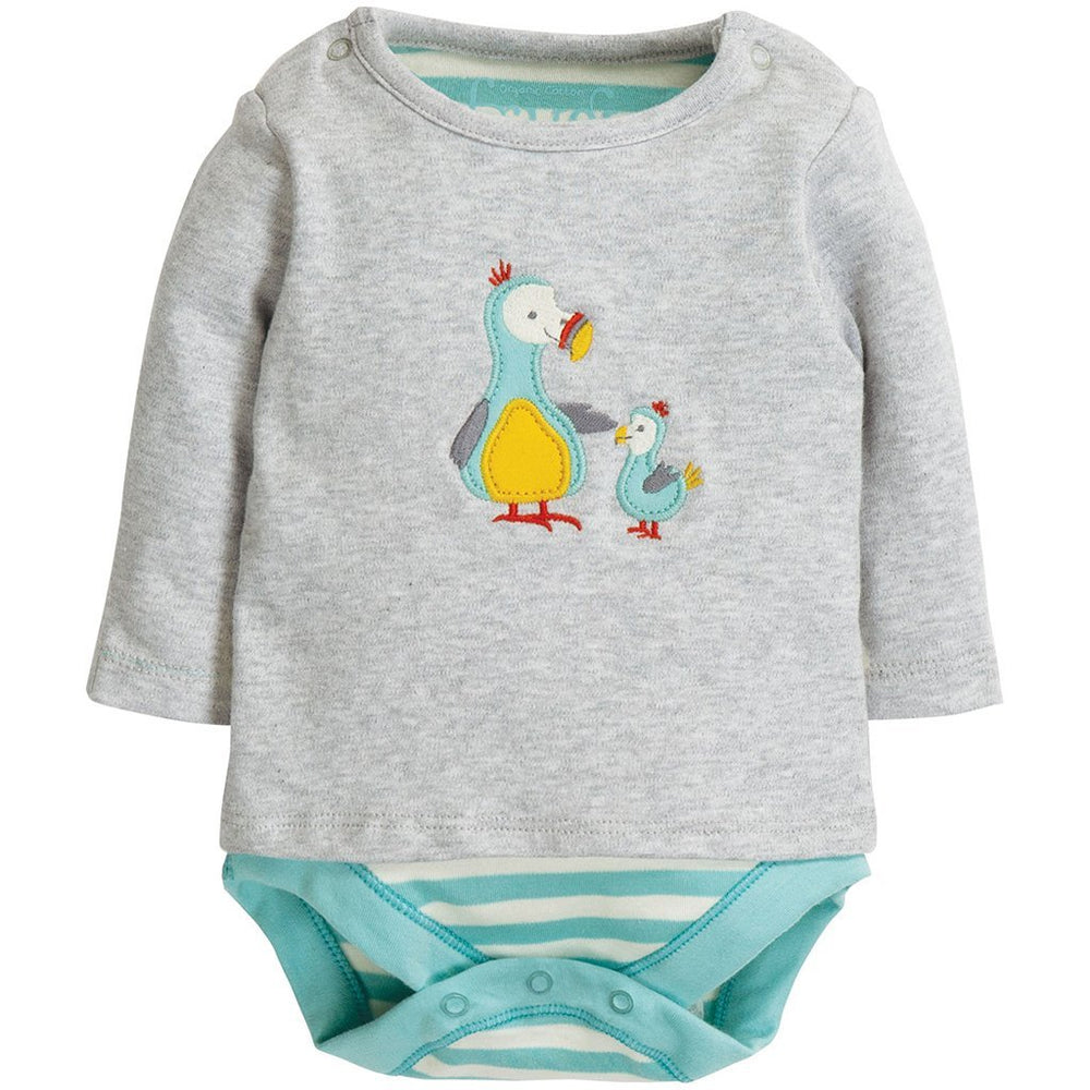 Frugi Poppet 2 in 1 body - dodo