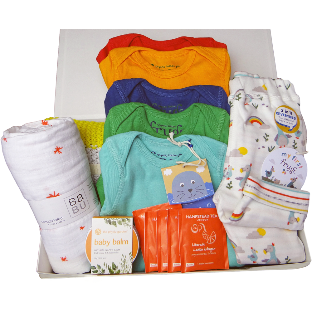 Rainbow Baby Gift Hamper from Baby Gift Works