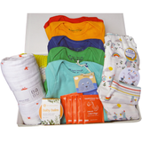 Welcome to the World Luxe Linen Box - Rainbow