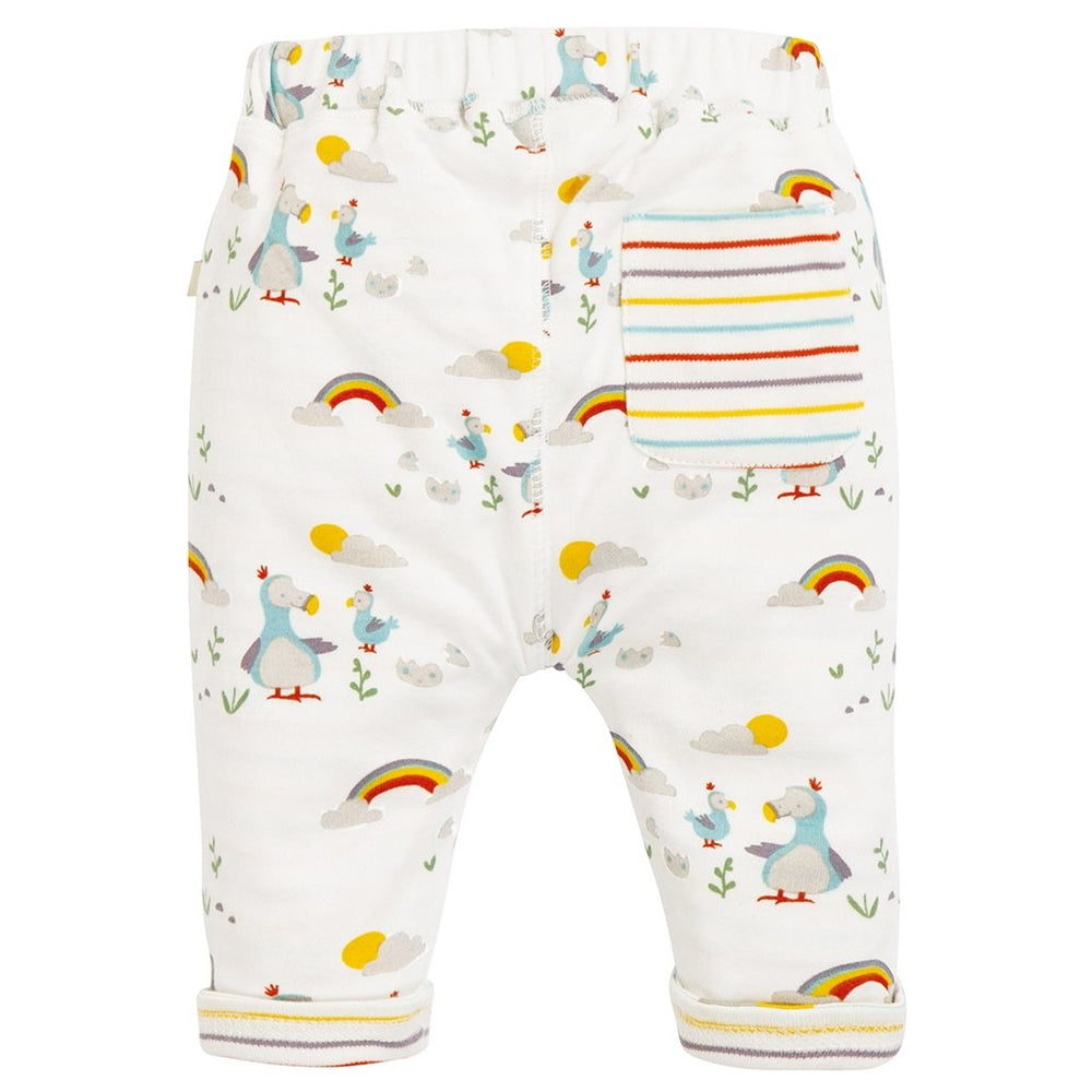 Frugi organic baby bottoms - delightful dodos - rear