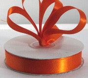 Satin - Orange - Baby Gift Works
