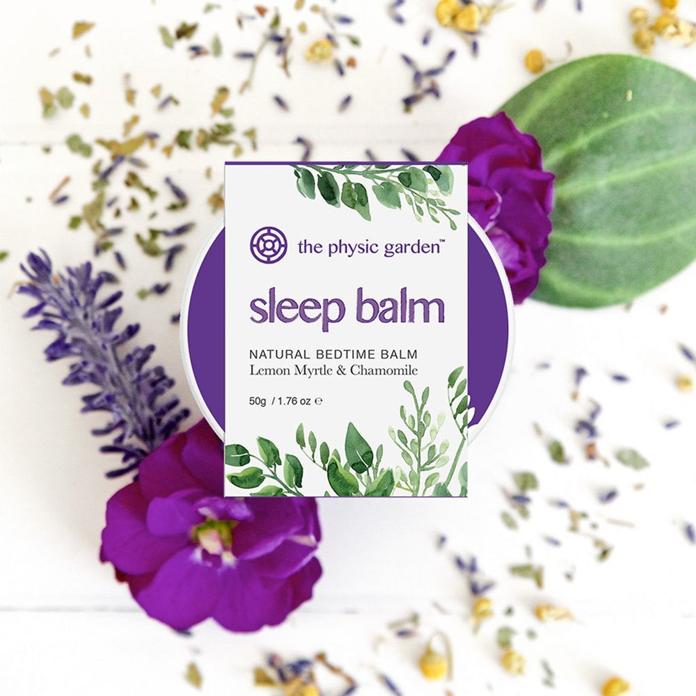Sleep Balm | All Natural & Vegan Friendly | Australian Made Skin Care The Physic Garden