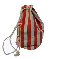 Add a Cotton or Jute Gift Tote Create your own Baby Gift Works Duffle Bag - Red