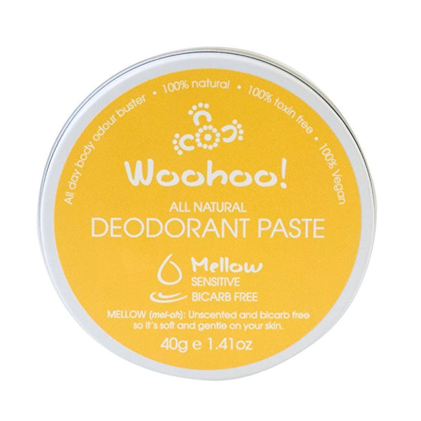 All Natural | Deodorant Paste | Travel Tin | 40g | Choice of 4 Fragrances Skin Care Woohoo Mellow