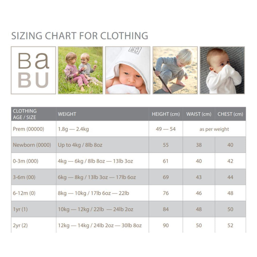 Babu | Organic Cotton | Baby Drop Crotch Pants | Coastal | Plain or Star Pants Babu