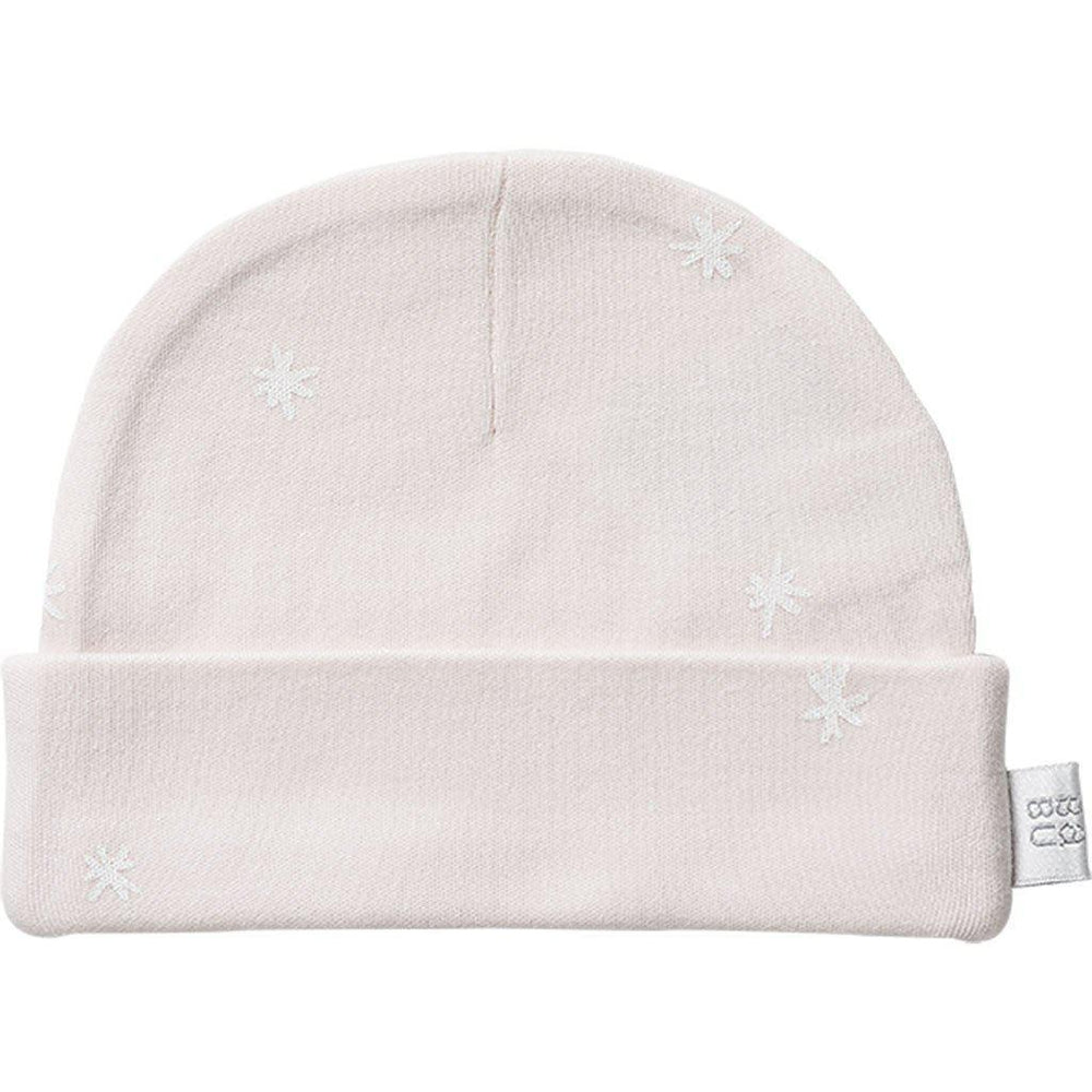 Babu | Organic Cotton | Hat | Shell | Plain or with White Star Hat Babu 0-3 months Shell (White Star)