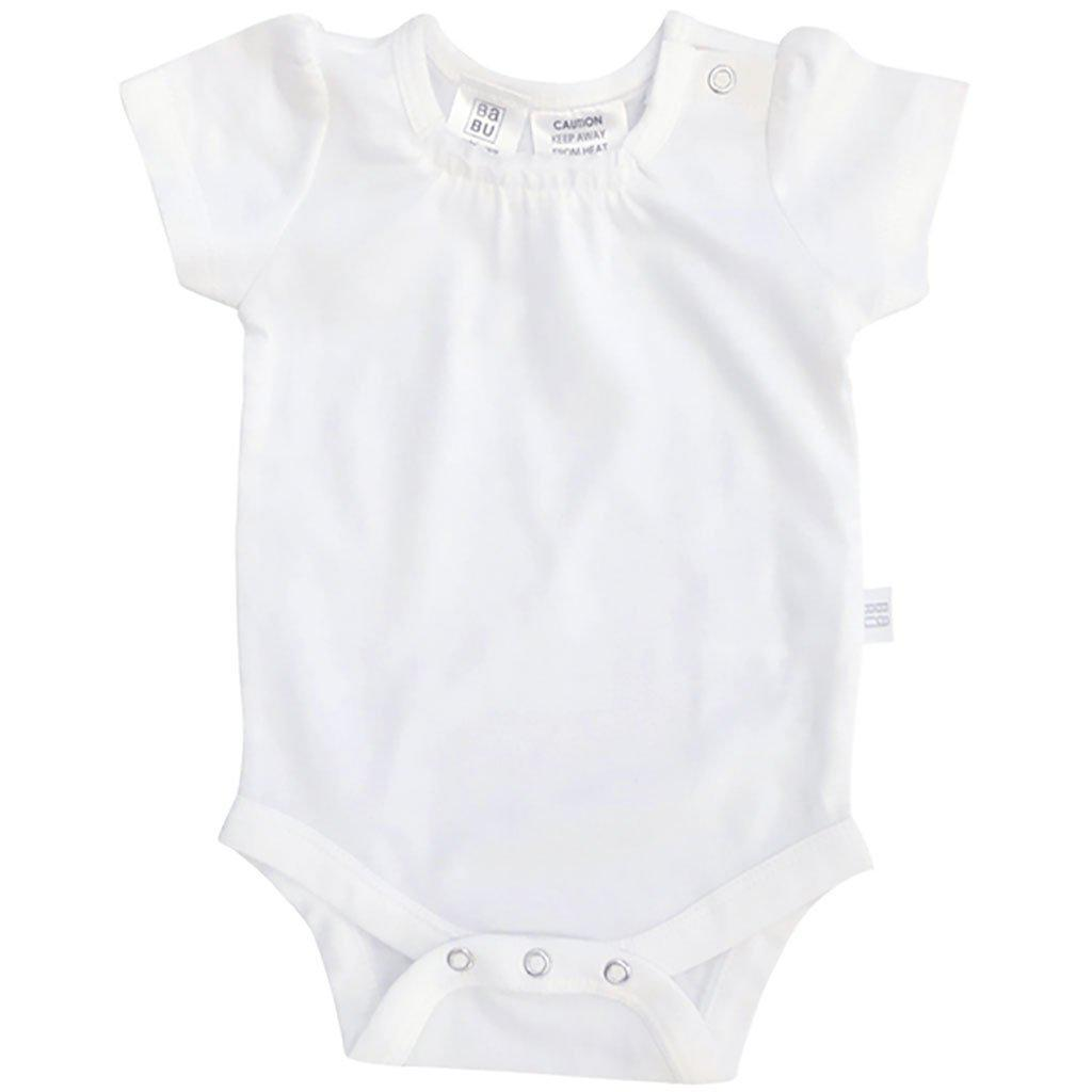 Piccalilly Twins Baby Bodysuits Organic Cotton Unisex Rainbow Pack of 3