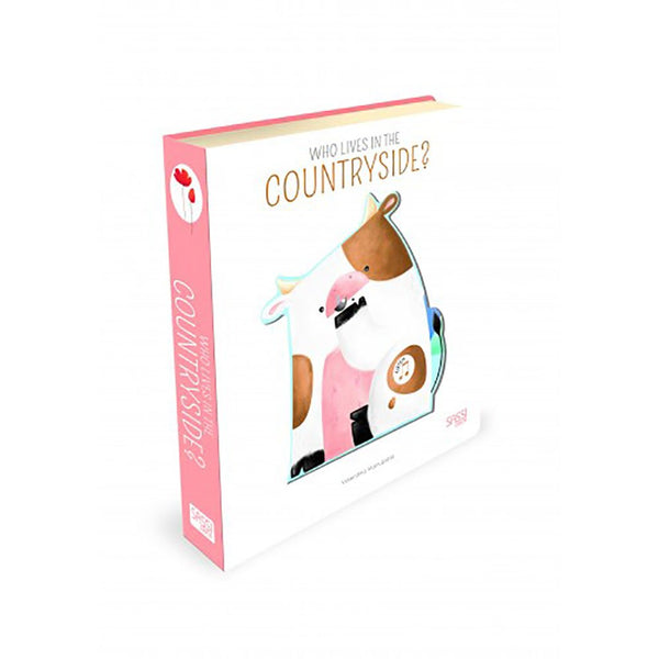 Baby Board Book | FSC Certified | Sound Book | Who Lives in the Countryside? Book Sassi