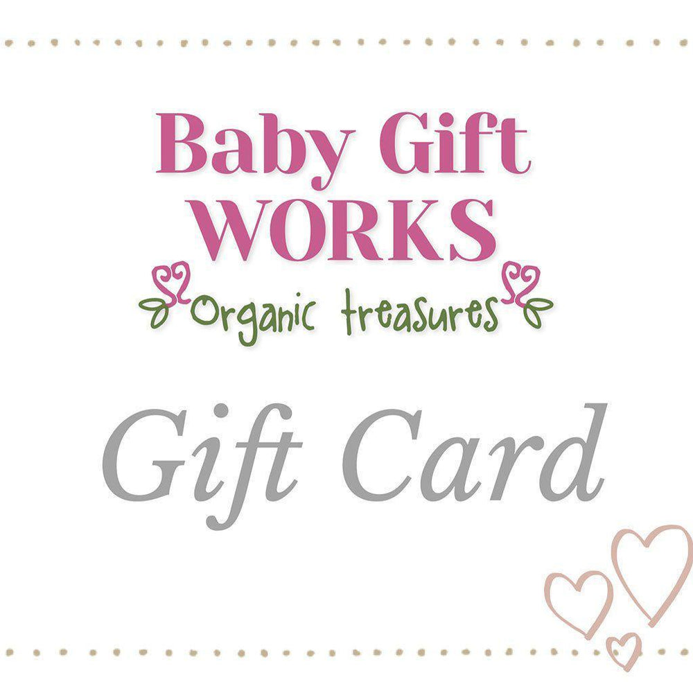 Baby Gift Works Gift Certificate: $25 - $1000 Gift Card Baby Gift Works