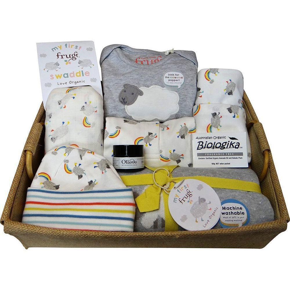 Create Your Own | Mum or Baby Gift Hamper | Eco-friendly | Jute or Timber Create your own Baby Gift Works