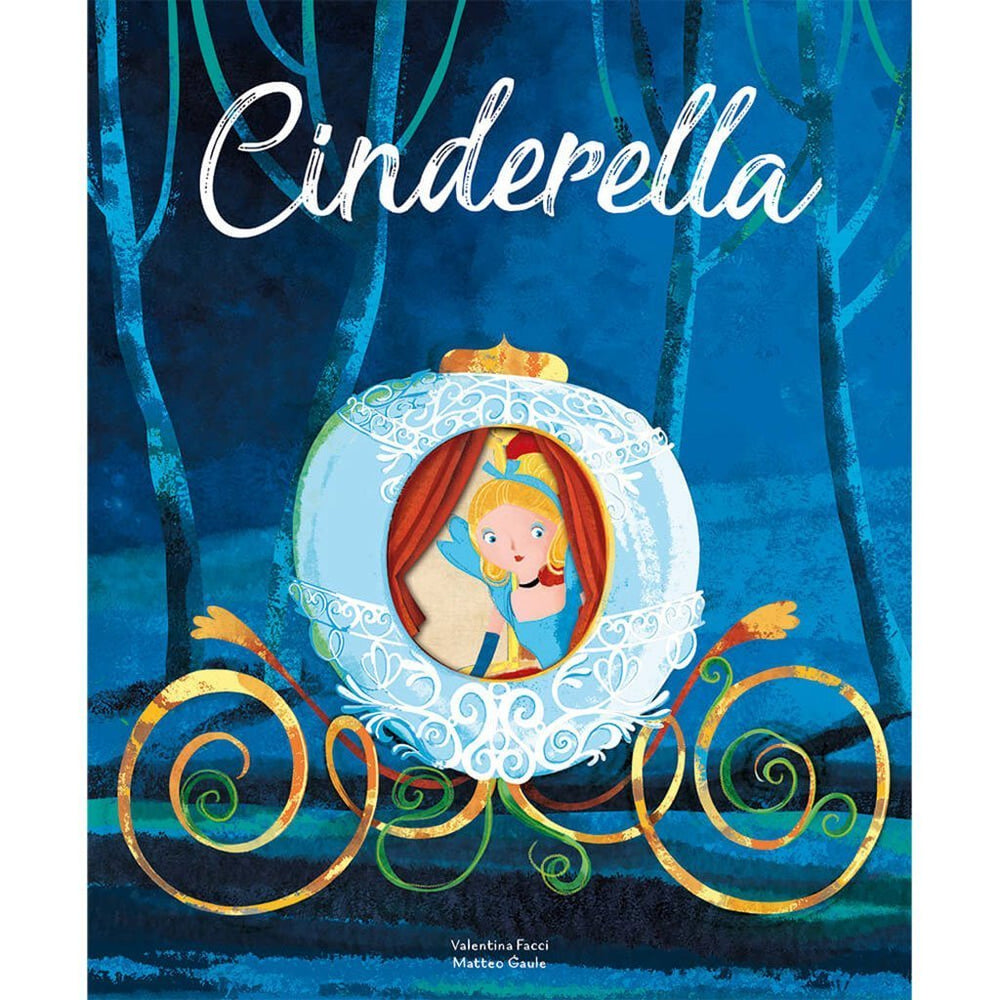 Die Cut Childrens Book | FSC Certified | Cinderella Book Sassi