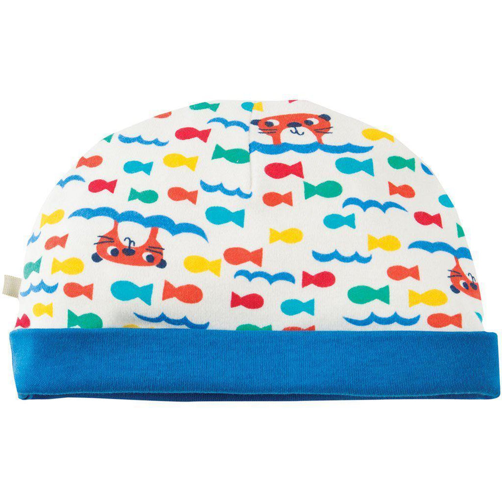 Frugi | Organic Cotton | Hat | Otter Splash Hat Frugi