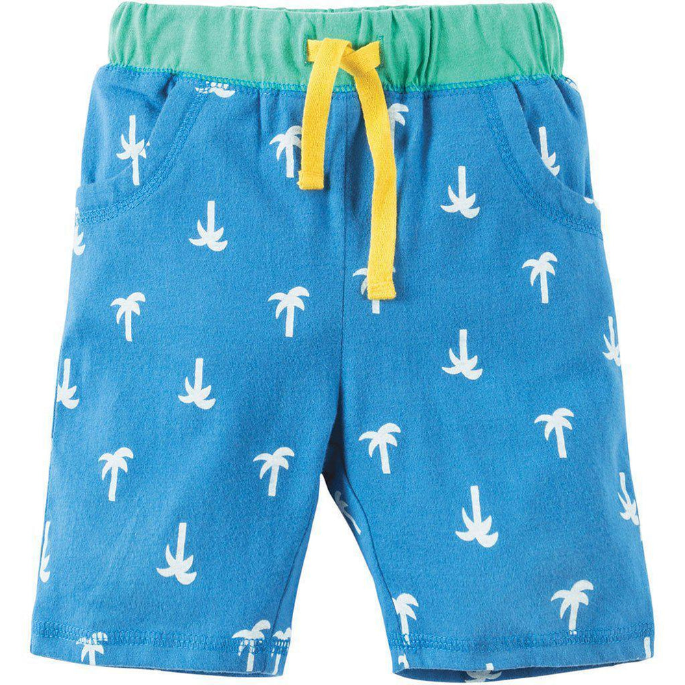 Frugi | Organic Cotton | Sean Shorts | Palm Springs/Camel Shorts Frugi